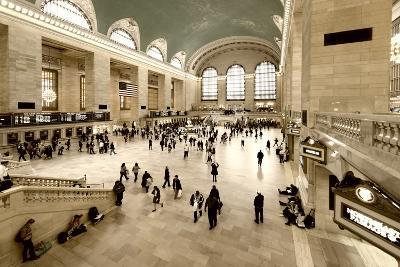 Grand Central Station - 42nd Street - Manhattan - New York City - United States-Philippe Hugonnard-Photographic Print