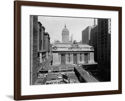 Grand Central Station in Manhattan--Framed Photographic Print