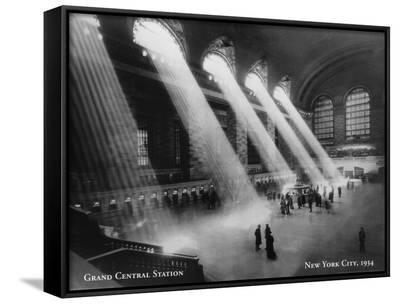 Grand Central Station, New York City--Framed Canvas Print
