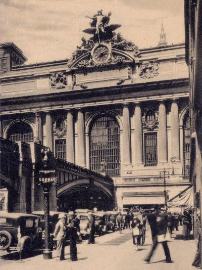 Grand Central Station, New York City--Photographic Print