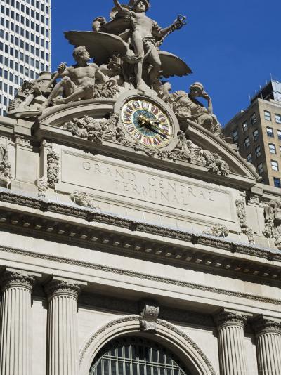 Grand Central Station Terminal Building, 42nd Street, Manhattan, New York City, New York, USA-Amanda Hall-Photographic Print