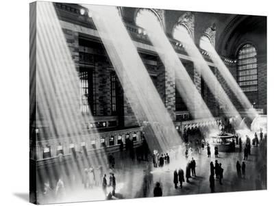 Grand Central Station--Stretched Canvas Print