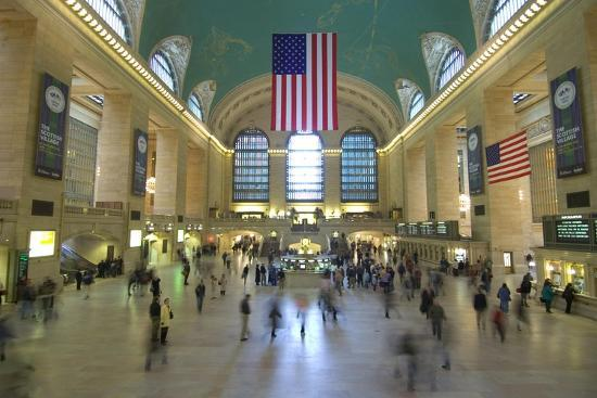 Grand Central Station-John Gusky-Photographic Print