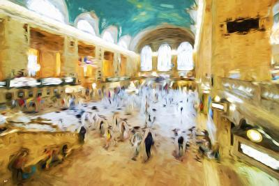 Grand Central Terminal II - In the Style of Oil Painting-Philippe Hugonnard-Giclee Print