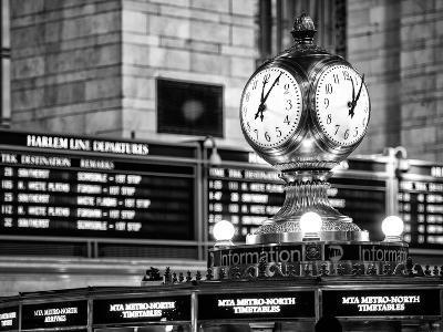 Grand Central Terminal's Four-Sided Seth Thomas Clock - Manhattan - New York-Philippe Hugonnard-Photographic Print