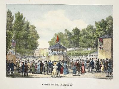 Grand Concours D'Harmonie, C.1895--Giclee Print