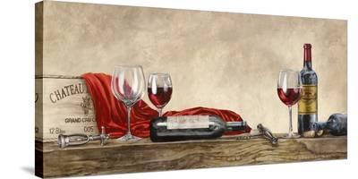 Grand Cru Wines (detail)-Sandro Ferrari-Stretched Canvas Print