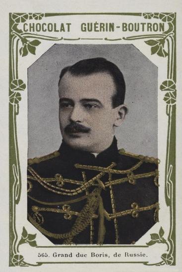 Grand Duc Boris, De Russie--Giclee Print