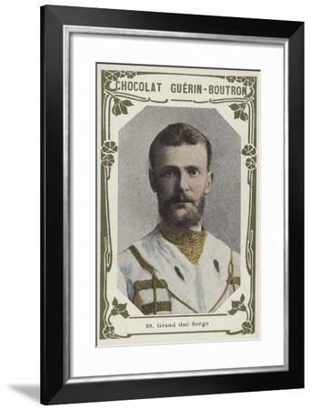 Grand Duc Serge--Framed Giclee Print