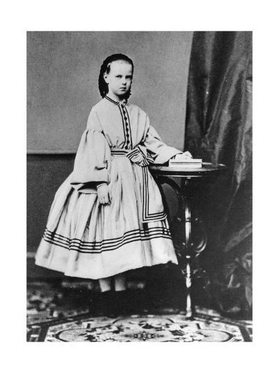 Grand Duchess Maria Alexandrovna of Russia, C1861-C1864--Giclee Print