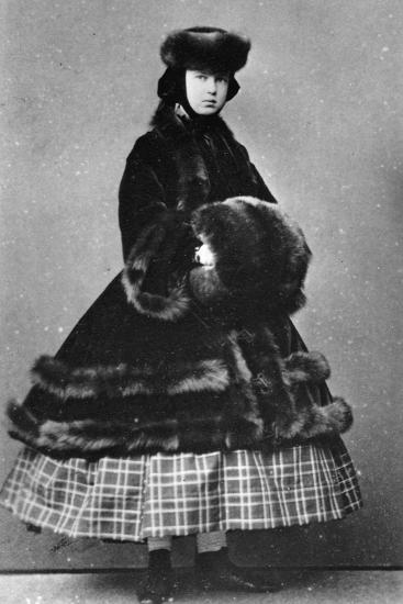 Grand Duchess Maria Alexandrovna of Russia, C1861-C1865--Giclee Print