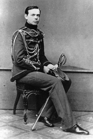 Grand Duke Alexander Alexandrovich of Russia, C1860-C1862--Giclee Print