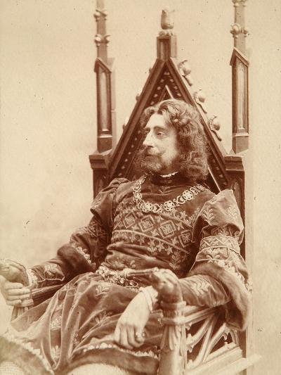 Grand Duke Constantine Constantinovich of Russia as Hamlet, 1900-Karl August Fischer-Photographic Print