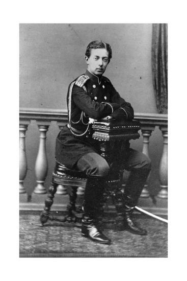 Grand Duke Nicholas Alexandrovich of Russia, C1860-C1865--Giclee Print