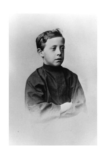 Grand Duke Nicholas Nikolaevich (The Younge) of Russia, C1861-C1863--Giclee Print