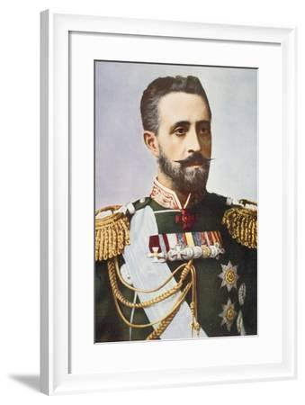 Grand Duke Nicholas Romanov--Framed Giclee Print