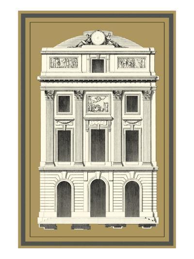 Grand Façade IV--Art Print