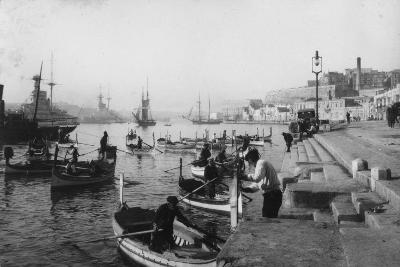 Grand Harbour, Malta, 1937--Giclee Print
