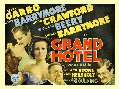 Grand Hotel, 1932--Art Print