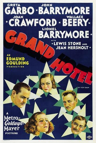 Grand Hotel 1932--Giclee Print