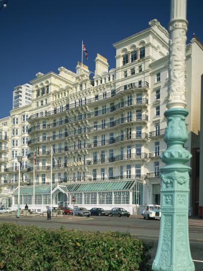 Grand Hotel, Brighton, Sussex, England, United Kingdom, Europe-Richardson Rolf-Photographic Print