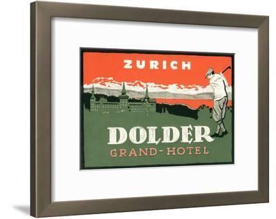 Grand Hotel Dolder, Zurich