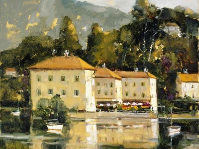 Grand Hotel, Lake Como-Ted Goerschner-Premium Giclee Print
