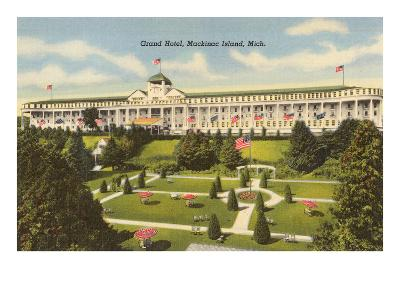 Grand Hotel, Mackinac Island, Michigan--Art Print
