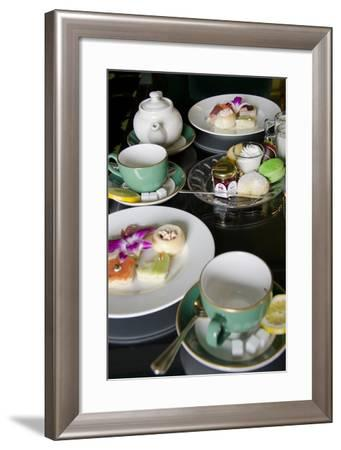 Grand Hotel Traditional Tea, Mackinac Island, Michigan, USA-Cindy Miller Hopkins-Framed Photographic Print