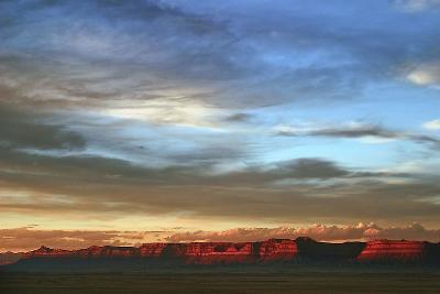 Grand Junction, Colorado: Sunset Lights Up the Cliffs in Grand Junction-Ben Horton-Photographic Print