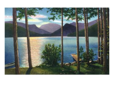 Grand Lake, Colorado - Sunrise Scene on the Lake-Lantern Press-Art Print