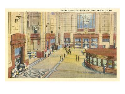 Grand Lobby, Union Station, Kansas City, Missouri--Art Print