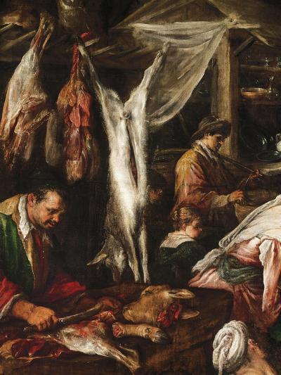 Grand Market-Francesco Bassano II-Giclee Print