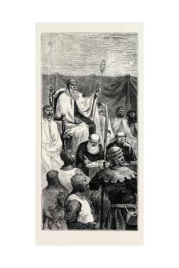 Grand Master Holding a Court--Giclee Print