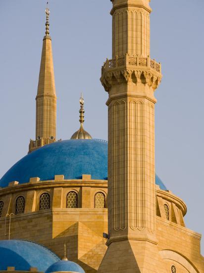 Grand Mosque, Beirut, Bayrut, Lebanon-Holger Leue-Photographic Print