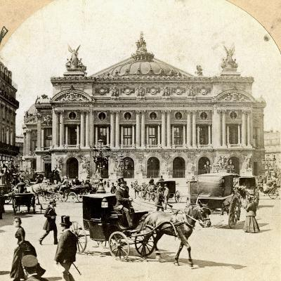Grand Opera House, Paris, Late 19th Century- Griffith and Griffith-Photographic Print