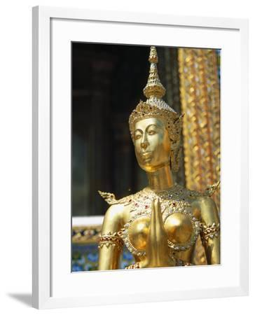 Grand Palace and Emerald Buddha Temple-Angelo Cavalli-Framed Photographic Print