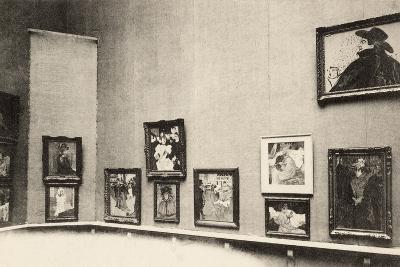Grand Palais, Salon d'Automne, View of Toulouse-Lautrec's Paintings, 1905-French Photographer-Photographic Print