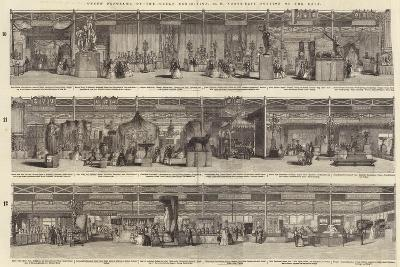 Grand Panorama of the Great Exhibition, North-East Portion of the Nave--Giclee Print