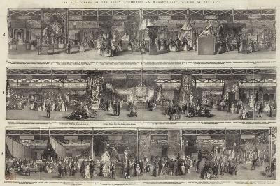 Grand Panorama of the Great Exhibition, South-East Portion of the Nave--Giclee Print