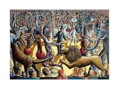 Grand Parade, 2004-P.J. Crook-Giclee Print