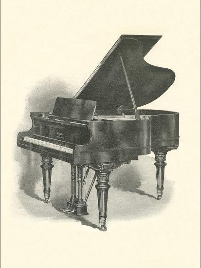 Grand Piano--Art Print