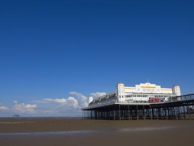 Grand Pier, Weston-Super-Mare, Somerset, England, United Kingdom, Europe-Lawrence Graham-Photographic Print