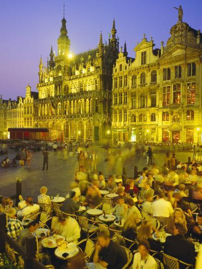 Grand Place, Brussels, Belgium-Roy Rainford-Photographic Print