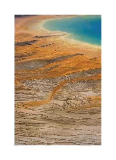 Grand Prismatic Spring II-Donald Paulson-Giclee Print