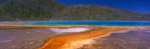Grand Prismatic Spring, Yellowstone National Park, Wyoming, USA