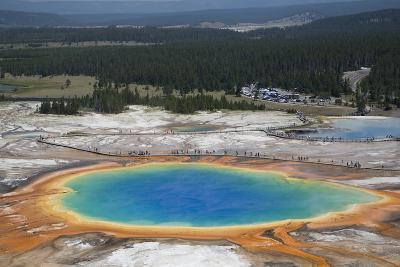 Grand Prismatic Spring-Richard Maschmeyer-Photographic Print