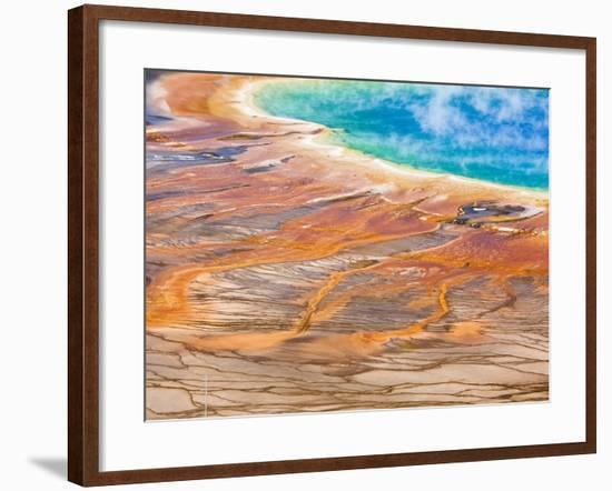 Grand Prismatic Spring-Frank Lukasseck-Framed Photographic Print