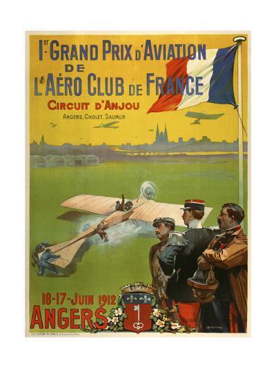 Grand Prix d Aviation de l Aero Club de France-Marcus Jules-Giclee Print