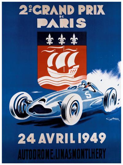 Grand Prix de Paris, 24 Avril 1949-Geo Ham-Giclee Print
